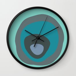 wobble circle Wall Clock