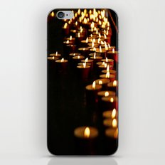 Candles for the Madonna iPhone & iPod Skin
