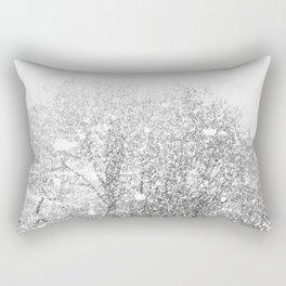 Snow in early fall(3) Rectangular Pillow
