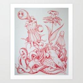 Tarandarus Flosculus (A) Art Print