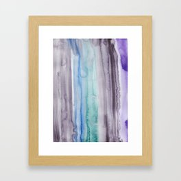 1  | 190907 | Watercolor Abstract Painting Framed Art Print