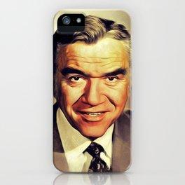 Lorne Greene, Vintage Actor iPhone Case