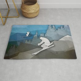 The Skiers Rug