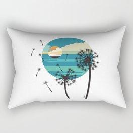 Almost Paradise Rectangular Pillow