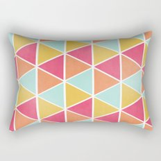 THE BRIGHTEST TRIANGLES Rectangular Pillow