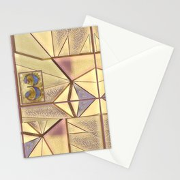 Kit In Abstract Stationery Cards