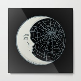 Cobwebs and moonlight Metal Print
