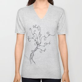 Burton Tree Unisex V-Neck