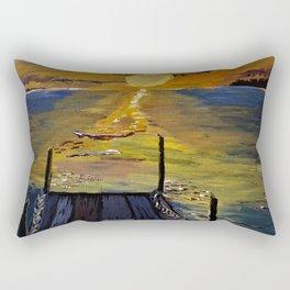 Sunset Bay Rectangular Pillow