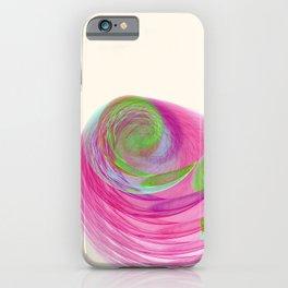 Fractal Art Feather Nebula iPhone Case