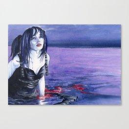 Salty Blood Canvas Print