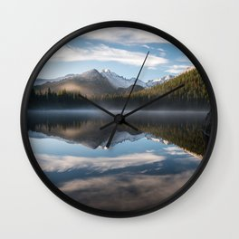 Bear Lake - Rocky Mountain National Park Wall Clock