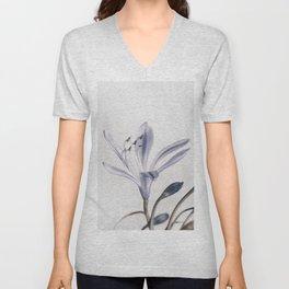 flower 2 Unisex V-Neck