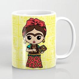 Frida Painting Reality Coffee Mug