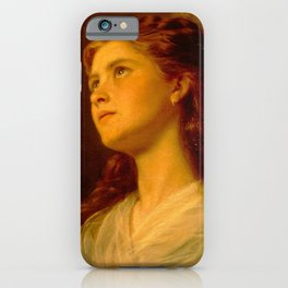 Anderson Sophie-Portrait of a Young Girl iPhone Case