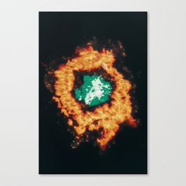 Metabolize Canvas Print