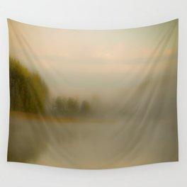 Misty Autumn Morning #decor #buyart #society6 Wall Tapestry