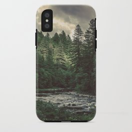 Pacific Northwest River - Nature Photography iPhone Case