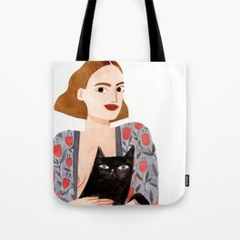 Anne et Margot Tote Bag