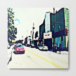 Street Scene No. 1 Metal Print