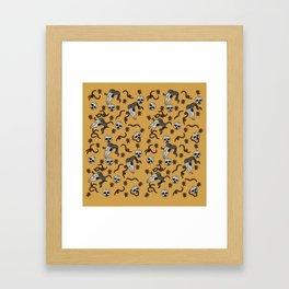"""""""Bewilder"""" Surface Design Framed Art Print"""