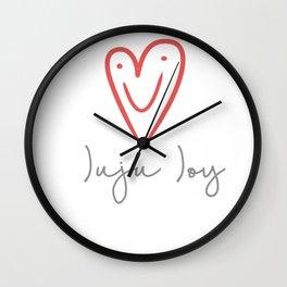 Juju Joy Wall Clock