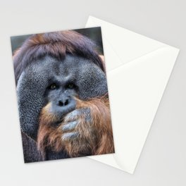 Sumatran Orangutan Stationery Cards