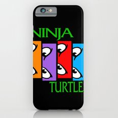 Black Flagged Turtles in a Half Shell Slim Case iPhone 6s