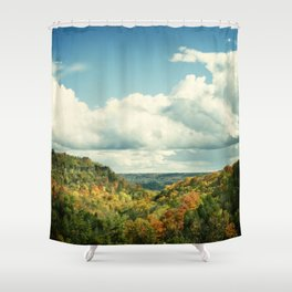 """Endless Possibilities"" Shower Curtain"
