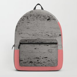 Light Coral on Concrete #2 #decor #art #society6 Backpack