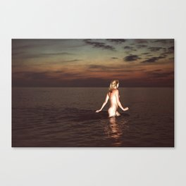 Naked Youth Canvas Print