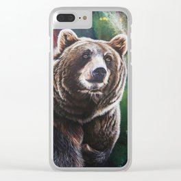 BrownBear 2017 Clear iPhone Case
