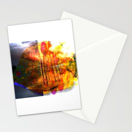 Back to the School of fish Stationery Cards