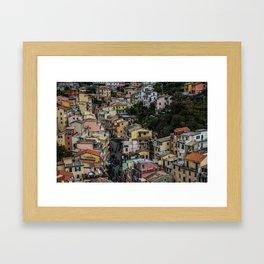 House it Goin'? Framed Art Print