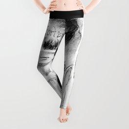 El Portero - Surreal Draw - Psychological Visual Story Leggings