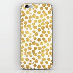 Gold Spots #society6 #decor #buyart iPhone & iPod Skin