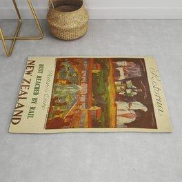 Vintage poster - Rotorua Rug