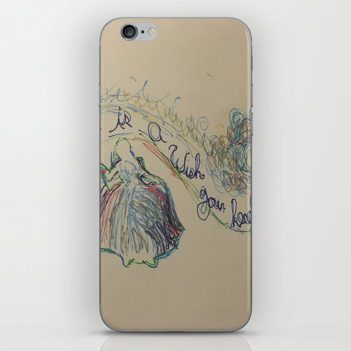 A dream is a Wish your heart Makes 2 iPhone Skin