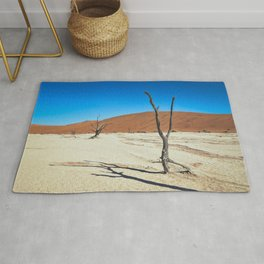 Dead Trees and Dunes Rug