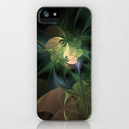 Fractal Floral Fantasy iPhone Case