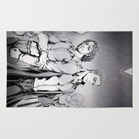 x men Area & Throw Rugs featuring X-men DOFP by Arashi.C
