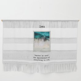 Small Emotional Dictionary: Sea Wall Hanging
