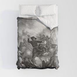 General Custer's Death Struggle Comforters