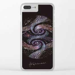 How Many Times Have We Done This? Clear iPhone Case