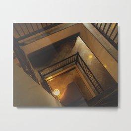 Kathmandu City - Architecture 01 - Stairs Metal Print