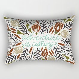 Adventure is Calling – Earth Palette Rectangular Pillow