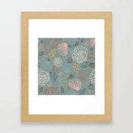 Deep-sea Treasures Framed Art Print