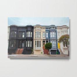 Colorful homes Metal Print