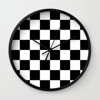 chess Wall Clocks featuring Chess by ArtSchool