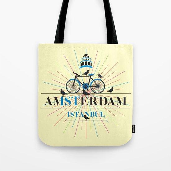amsterdam & istanbul Tote Bag